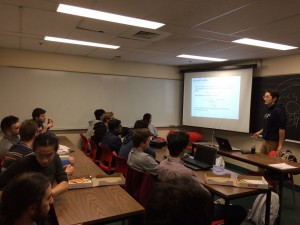Seminar by Carlos Oliver